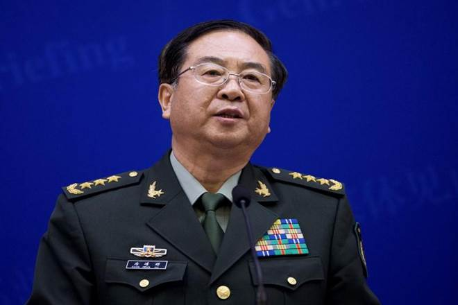 Central Military Commission,China,Communist Party,Fang Fenghui,NewsTracker,People's Liberation Army,Xi Jinping,Zhang Yang