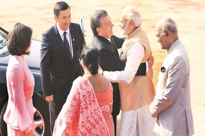 india uzbekistan trade, india uzbekistan military exercise, india uzbekistan ties, india uzbekistan review bilateral ties, india uzbekistan news, narendra modi