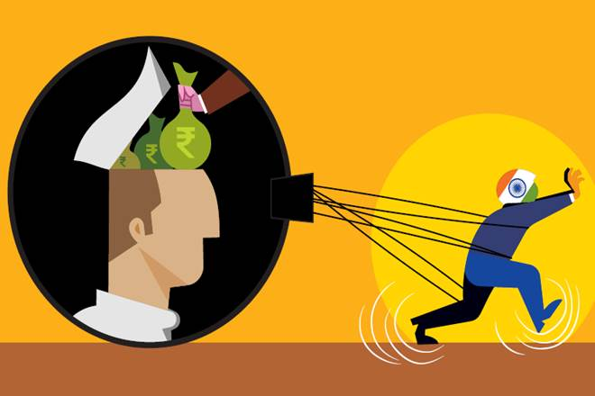 Indian economy, institutional development, kleptocracy, Public sector, economic problem, opinion