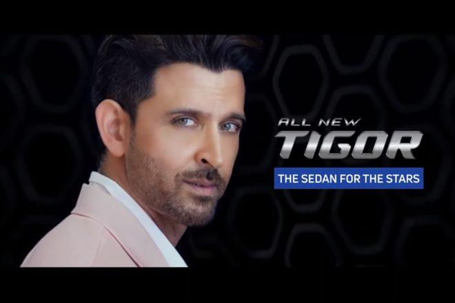 Bollywood actor Hrithik Roshan signed as new brand ambassador for Tata Tigor.