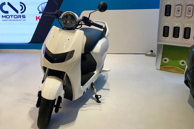 Twenty Two Kymco launched in India: New Flow electric scooter with Ionex battery to launch in early 2019