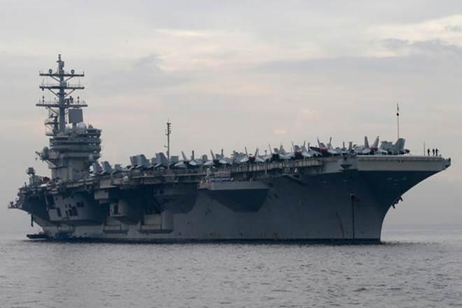 US Navy, US Navy helicopter, MH-60 Seahawk, USS Ronald Reagan, US Navy 7th Fleet