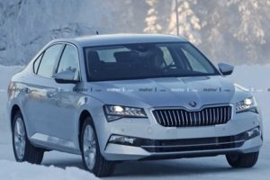 New 2019 Skoda Superb facelift spied: First ever plug-in hybrid for the Czech brand - The Financial Express