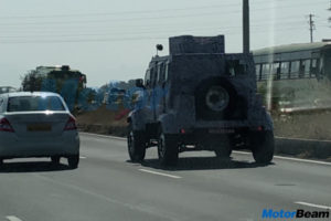 Tata Merlin Light Strike Armoured Vehicle spied: Can survive Artillery, bombs and mines! - The Financial Express