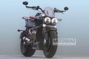 All-new 2020 Triumph Rocket III spied testing: Massive 2,500cc engine, revised design & more - The Financial Express