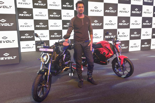 """Revolt Motorcycle To Launch India's First """"AI-enabled"""